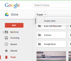 GoogleDriveTrash
